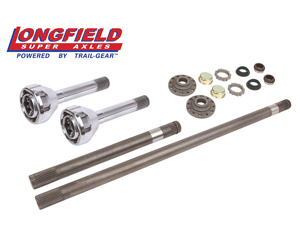 Picture of Longfield 30 Spline Birfield/Axle Super Set (Fj 60) Gun Drilled