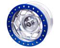 "Picture of 17"" Aluminum Beadloclk Wheel, Fj/Tacoma (6 On 5.5"" W 3.75"" Bs), Orange Segmented  Ring"