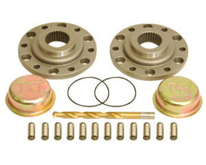 Picture of Drive Flange Kit W/ Dowel Pins, Drill Bit And Dust Shield